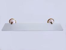 Аксесоари за баня от месинг/порцелан-етажера 178