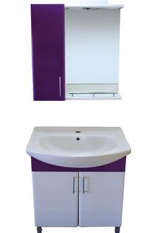 Шкаф за баняPVC 55см к. база цвят Р05
