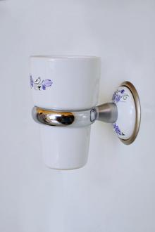 Държ. на чаша за зъбни четки порц.десен код105