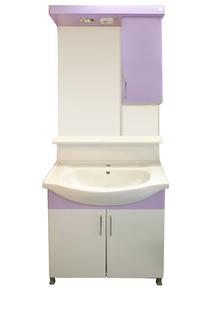 Мебели за баня PVC 68см.STD д.лилав РАЗПРОДАЖБА