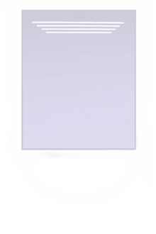 Огледало за баня кристал-осветление- МЕДЕЯ