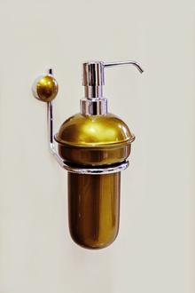 Д-ч на дозатор течен сапун-ст.злато/хром