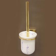 Аида-Аксесоари за баня порц.д-ч тоал.четка108 злато