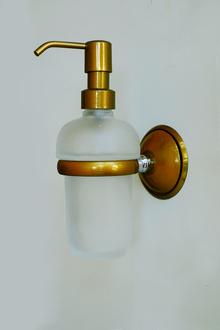 Д-ч на дозатор течен сапун месинг/стъкло/порцелан