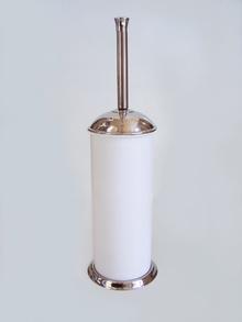 Тоалетна четка,код 33030 ЛУКС бяло/хром