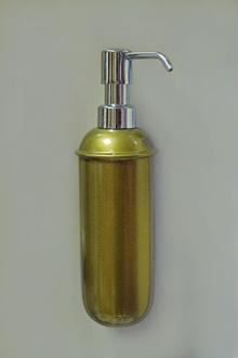 Доз.течен сапун неръжд.стомана18/10стенен ст.злато