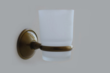 Електра 1-д-ч на стъкл.чаша-месинг-ст.злато
