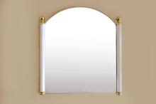 Кристално огледало в рамка месинг м-л МОМ