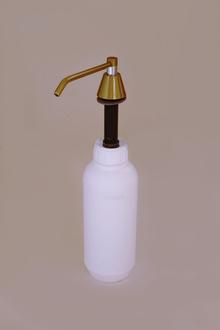 Дозатор теч.сапун-вгражд.кухн.плот меламин ст.злато